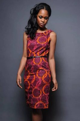 Ankara gowns without sleeves
