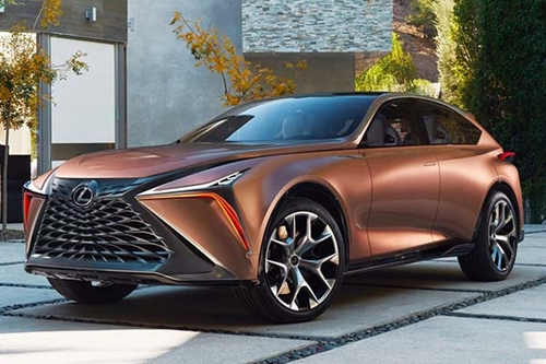 car lexus f1 2 - Check Out The Beautiful New Lexus LF-1 Limitless SUV (Photos)