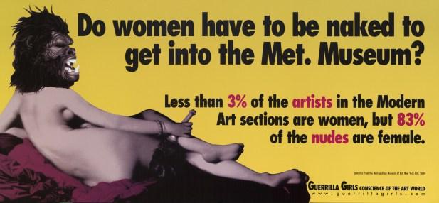 01 guerrilla girls Plakat
