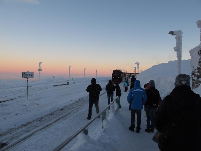 Antarktis oder Deutschland? Fast weltfremd wirkt die Umgebung auf dem Brocken.