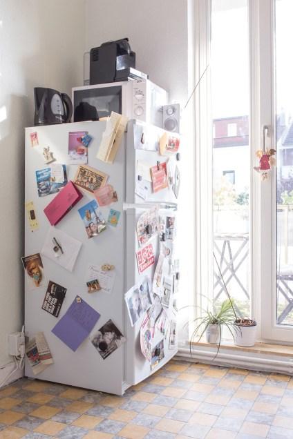 Julia M.s Kühlschrank. Ein Memonboard der persönlichen Momente