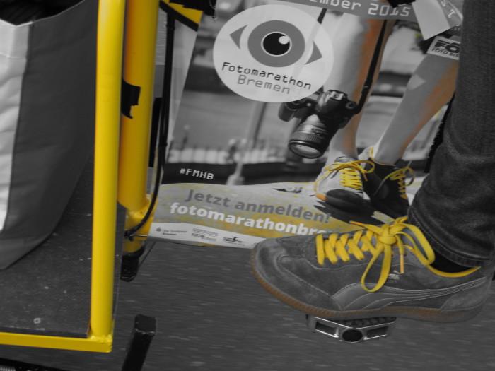 Die Schuhe kannten viele schon vom Plakat. Foto: Ilko Kastirr