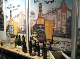 Stand beim Beer Event auf der Fisch&Feines in Bremen.