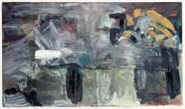 Per-Kirkeby, Fram, (1983), Öl auf Leinwand, Louisiana Museum of Modern Art