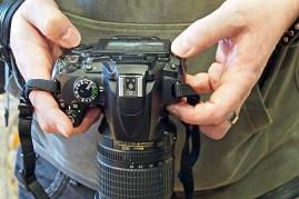 Es muss keine Spiegelreflex-Kamera sein! Jedes Modell ist erlaubt. Foto: Ulrich Graf-Nottrodt