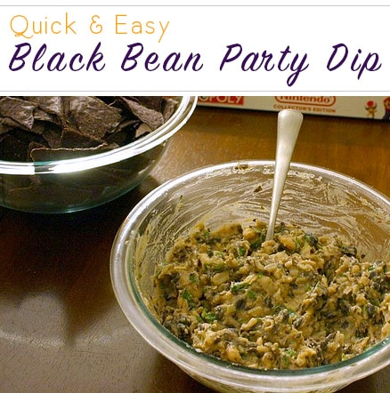 This has been my signature party dish since before I got married. It's an easy vegan bean dip recipe that's a little bit smoky and a little bit spicy.