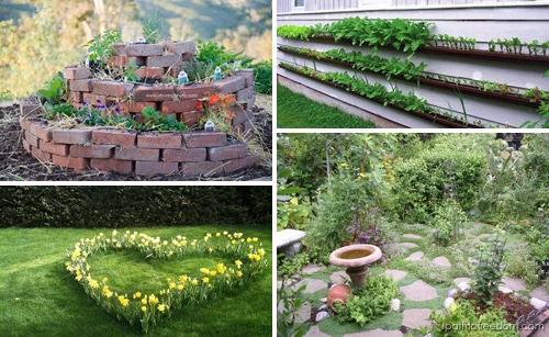 food garden inspiration board