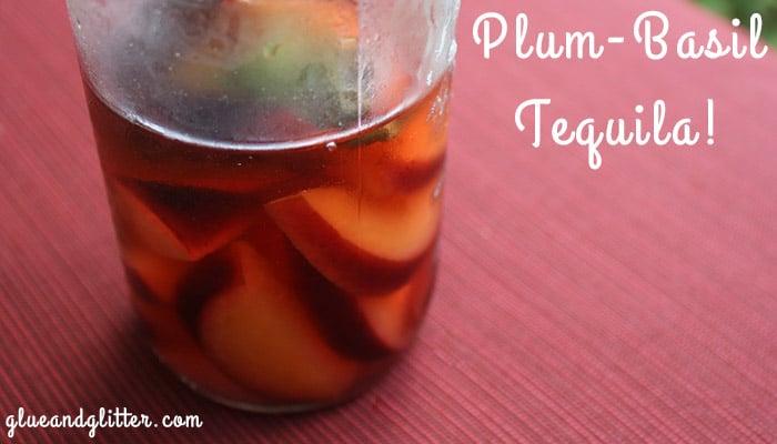 basil plum tequila
