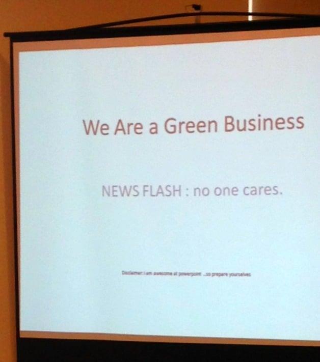 2014 Georgia Organics Conference: Green Business Talk
