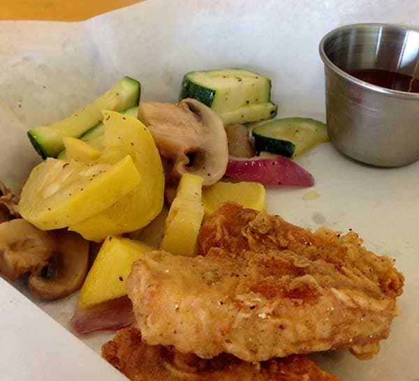 Go Vegetarian Restaurant 'Chicken' Fingers