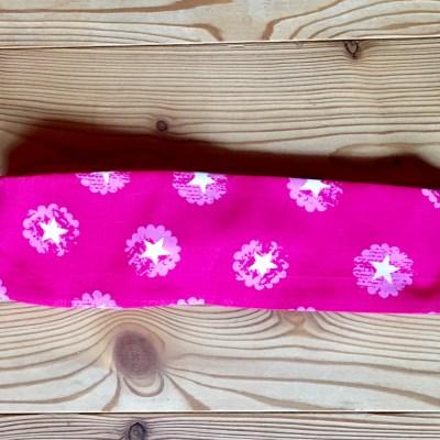 haarband pink und sterne