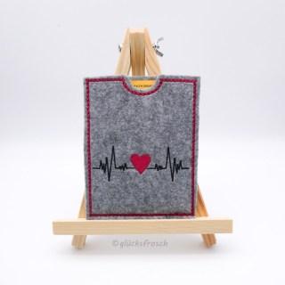Impfpass Herzschlag Herz klein