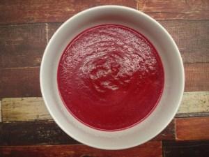 Foto Rote Rüben-Suppe