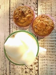 Foto Kaffee und Muffins