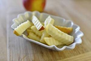 Foto von Apfel-Pommes