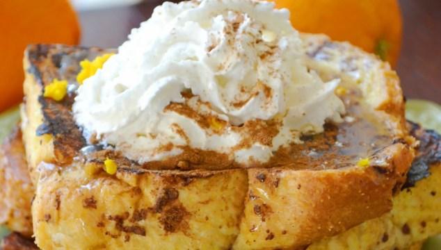 Orange French Toast {Recipe}