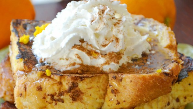 Orange French Toast {Recipe}