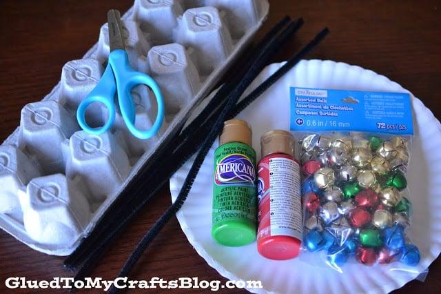 Egg Carton Bells {Kid Craft}