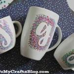 Diy Sharpie Painted Mugs That Won T Wash Away
