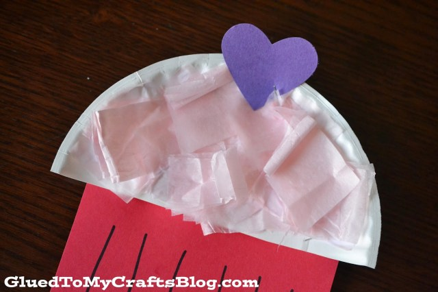Tissue Paper Cupcake {Kid Craft}