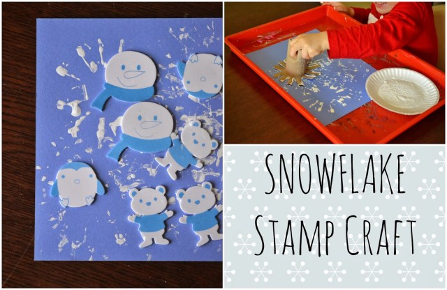 Snowflake Stamp {Kid Craft}