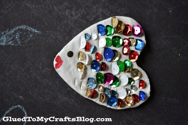 Clay Rainbow Fish {Kid Craft}