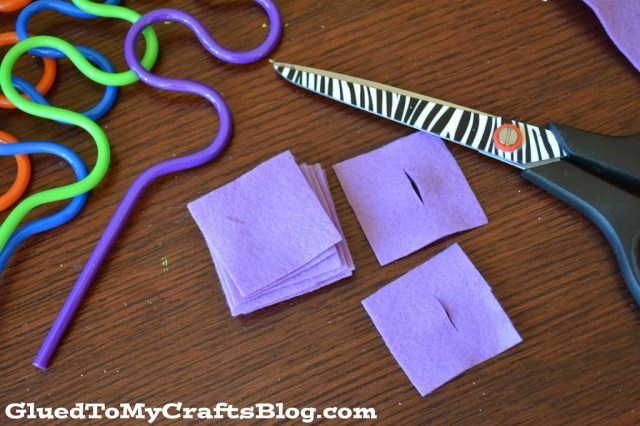 Crazy Straw {Busy Bag Idea}