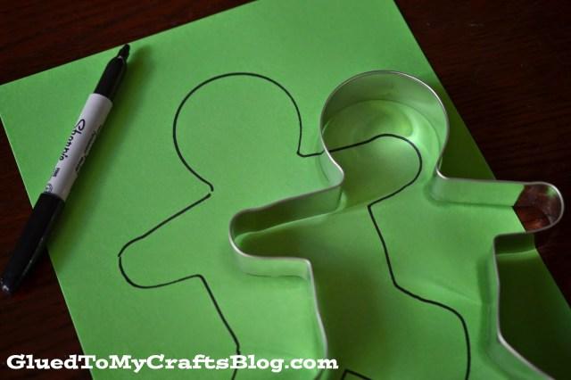 Tissue Paper Mummy {Kid Craft}