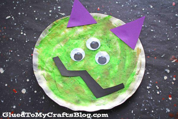 Coffee Filter Monsters {Kid Craft}