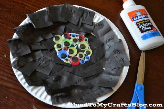 Halloween Spider {Kid Craft}