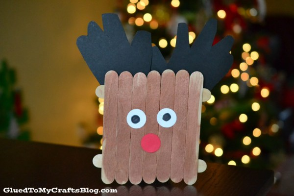 Popsicle Stick Reindeer {Kid Craft}