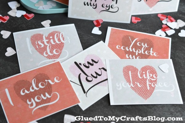 Love Notes Printable