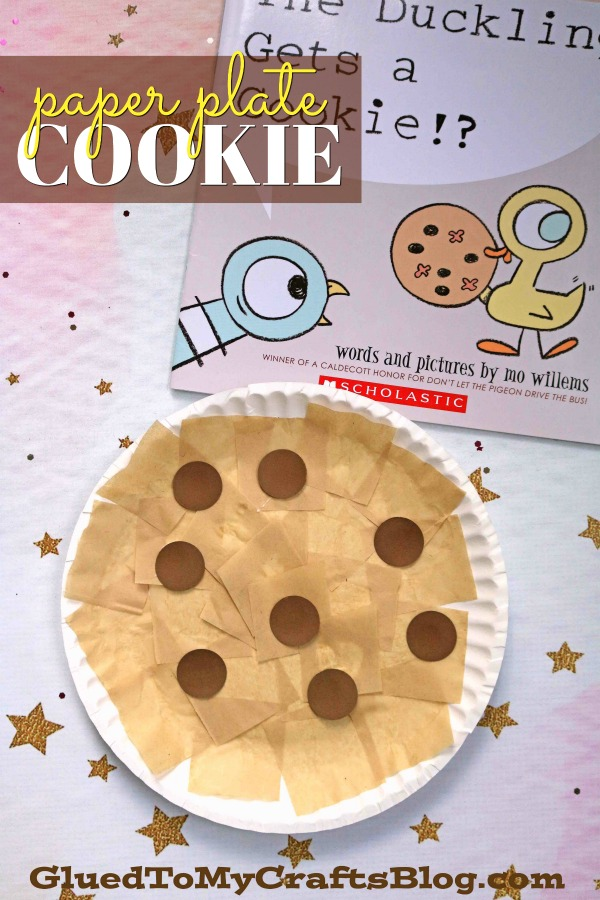 Paper Plate Cookie {Kid Craft}