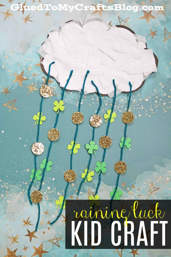 Raining Luck - Kid Craft Idea & Free Printable