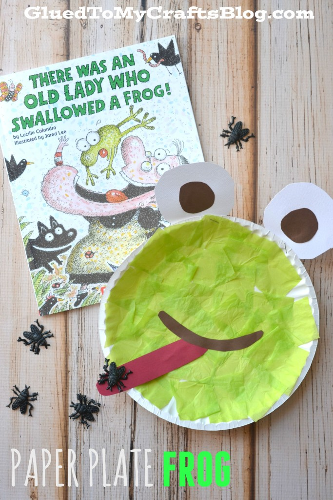 & Paper Plate Frog - Kid Craft
