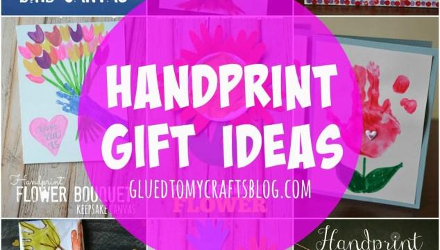 Handprint Gift Ideas {Roundup}