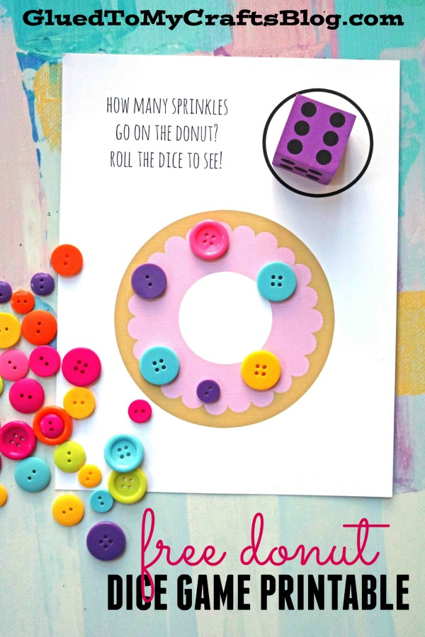 Donut Sprinkle Game - Free Printable