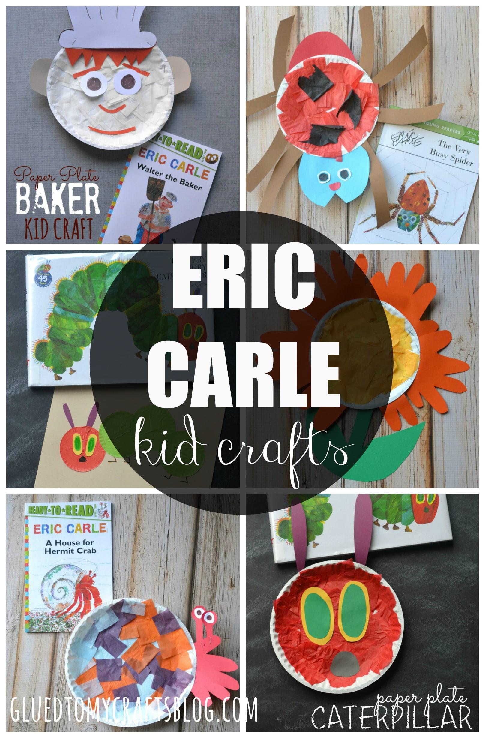 Eric Carle Kid Craft Roundup