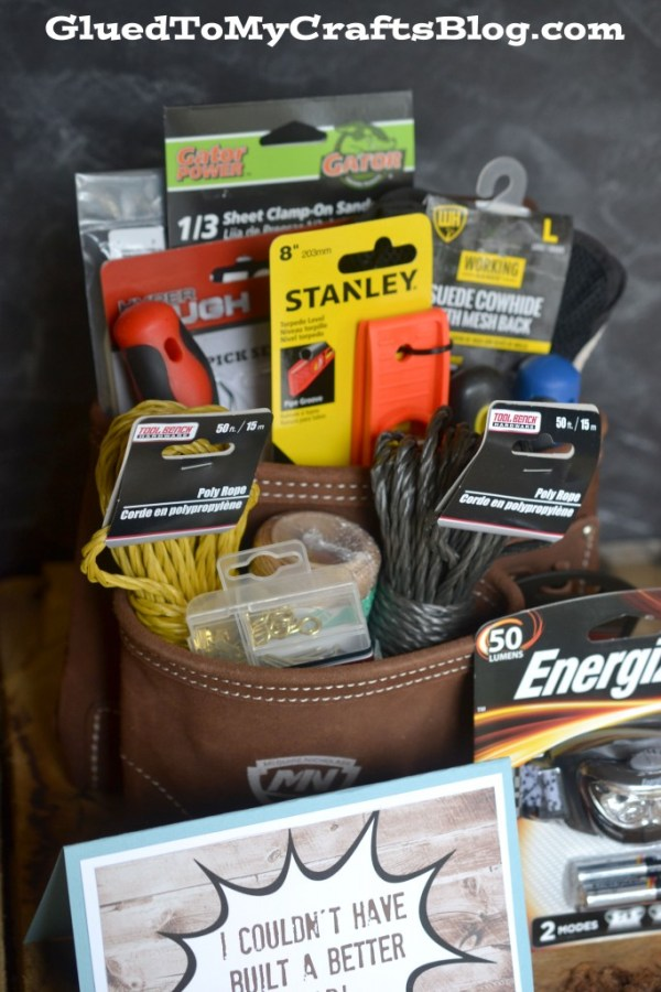 Father's Day Tool Bag Gift Idea + Free Printable