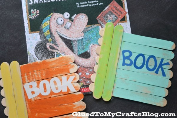 Popsicle Stick Books - Kid Craft