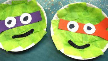 Paper Plate Turtles | Paper & Card | CleverPatch - Art & Craft ... | 200x350