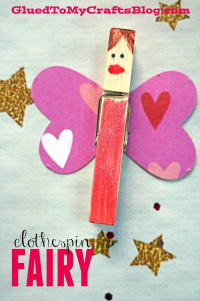 Clothespin Fairies - Kid Craft