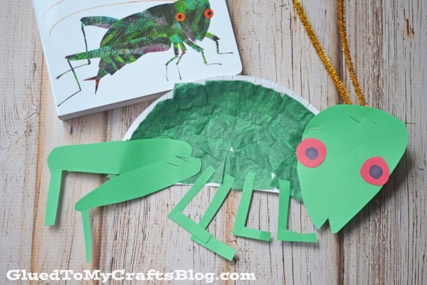 Paper Plate Cricket - Kid Craft