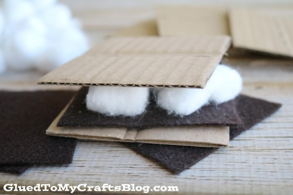 Smores Busy Bag Idea