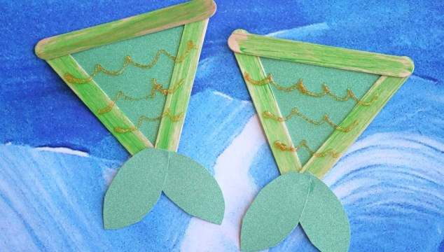 Popsicle Stick Mermaid Tails – Kid Craft