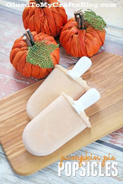 Pumpkin Pie Popsicle Recipe