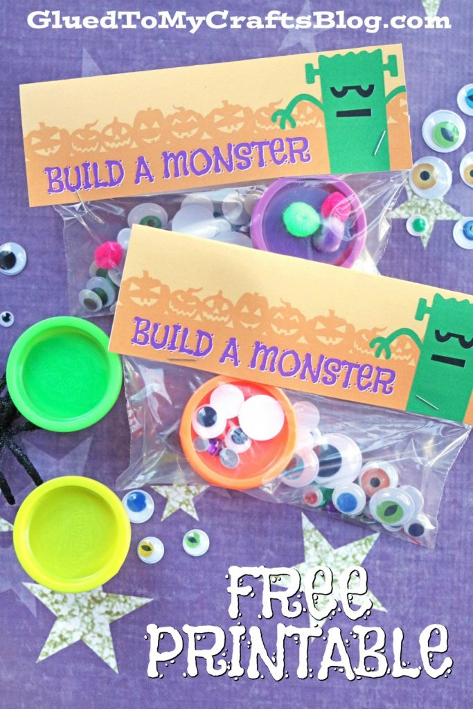 image about Build a Monster Printable named Establish A Monster - Cost-free Printable