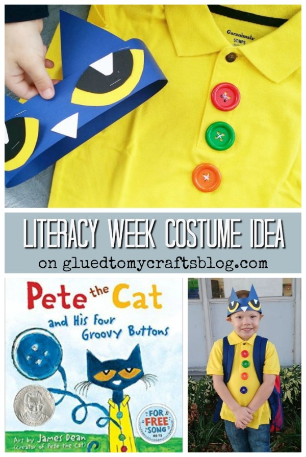 Groovy Buttons - Pete Character Costume Idea