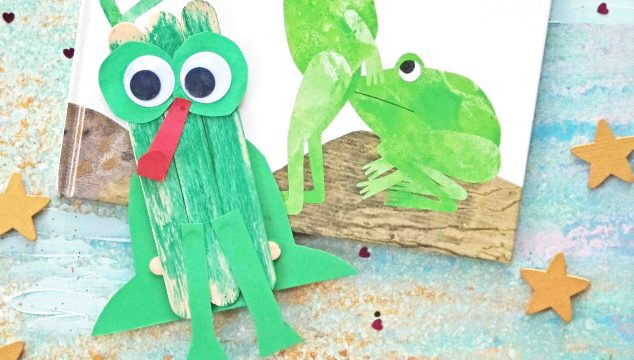 Popsicle Stick Frog – Kid Craft