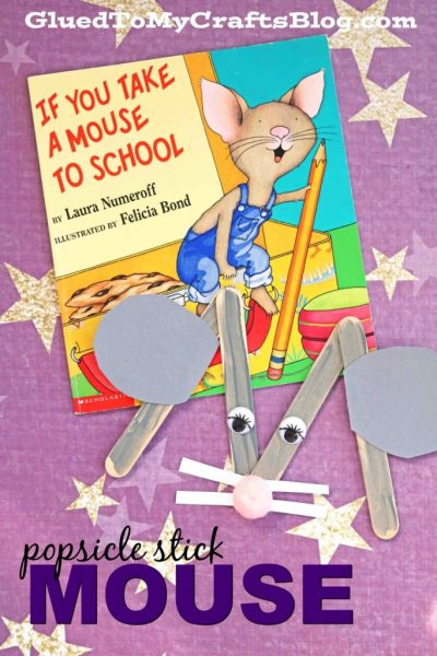 """""""M"""" is for Mouse - Kid Craft Idea"""
